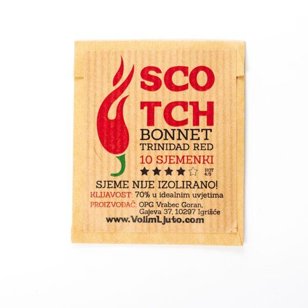Scotch Bonnet Trinidad Red - VolimLjuto.com