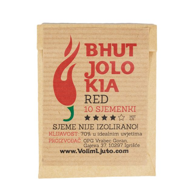 Bhut Jolokia Red sjeme - VolimLjuto.com