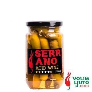 serrano acid wine