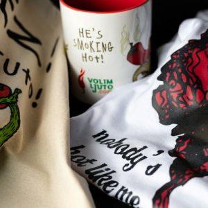 Majice, torbe, suveniri...