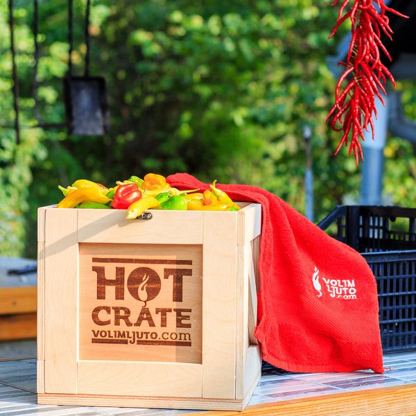 Fresh Hot Pepper Crate - VolimLjuto.com