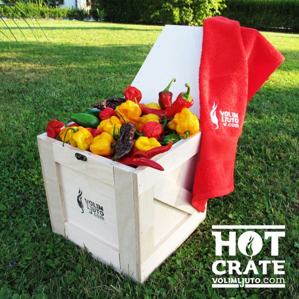 Fresh Hot Pepper Crate poklon paket 3