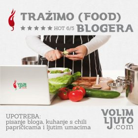 Tražimo (food) blogera / blogere 1
