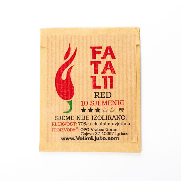 Fatalii Red Sjemenke - VolimLjuto.com