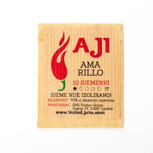 Aji Amarillo sjemenke - VolimLjuto.com