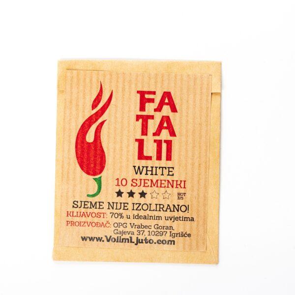 Fatalii White Sjemenke - VolimLjuto.com