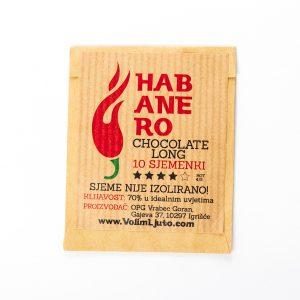 Habanero chocolate long sjemenke - VolimLjuto.com