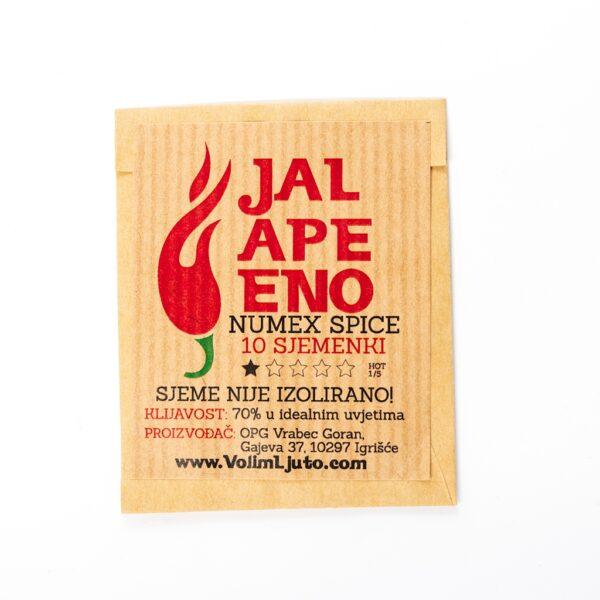 Jalapeno Numex Spice sjemenke - VolimLjuto.com
