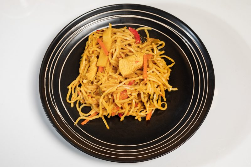 Less Sweet Than Chili (Wok s piletinom i rezancima) by Davor's Quadrillage 1
