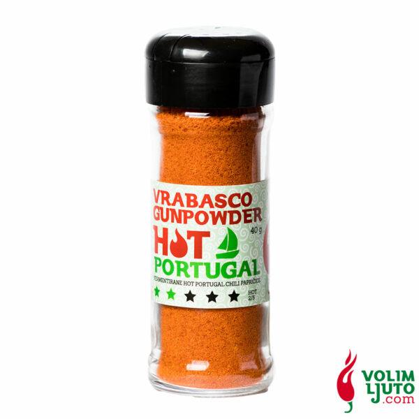 Vrabasco Gunpowder Hot Portugal 40g 2