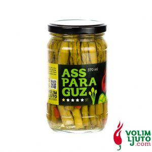 AssParaGuz - ukiseljene šparoge s chili papričicama