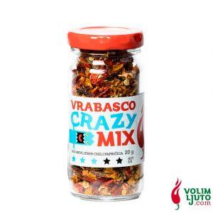 Crazy mix - sušene mrvljene chili papričice