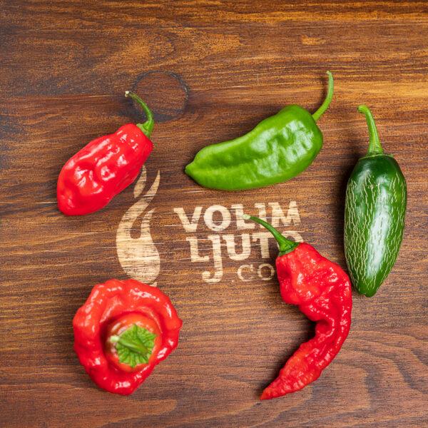 Ljuti mix - svježe chili papričice 4