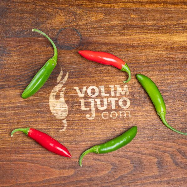 Serrano - svježe chili papričice 4