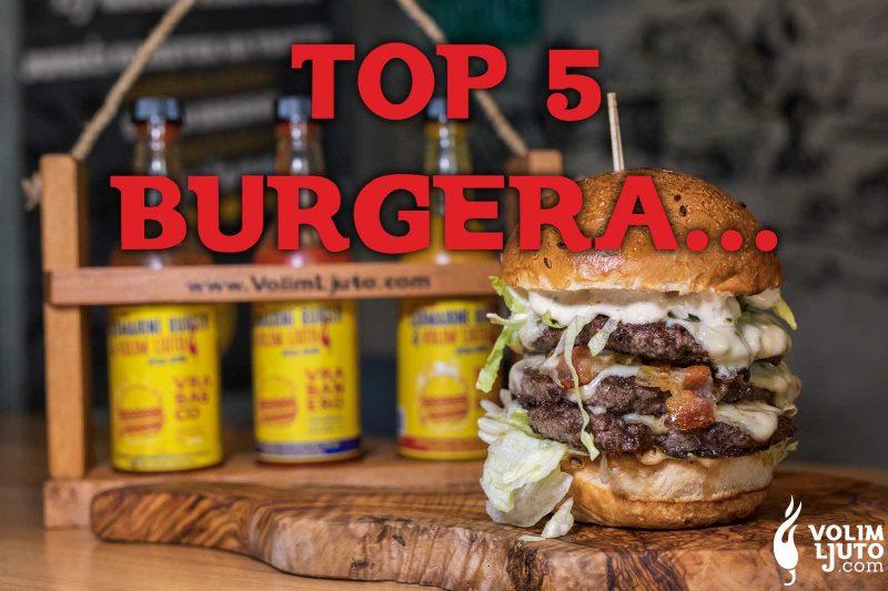 Top 5 burgera