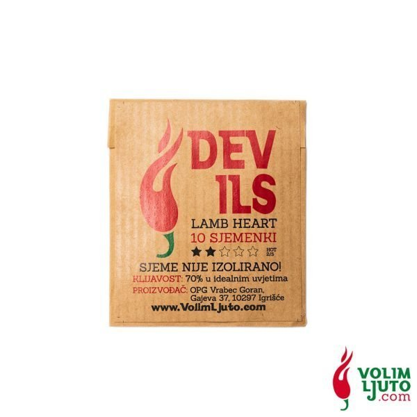 Devil's Lamb Heart - Sjemenke chili papričica 2