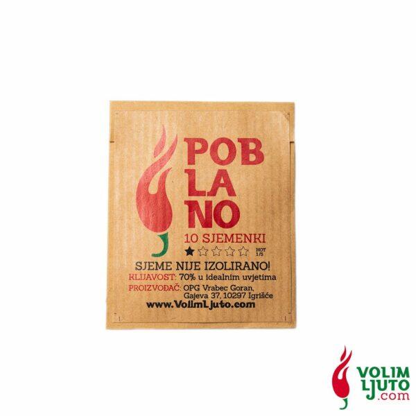 Poblano - Sjemenke chili papričica 4