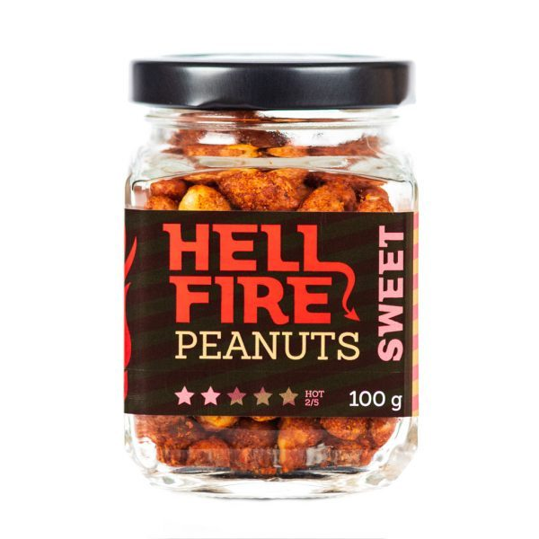 Hellfire Peanuts Sweet ljuti kikiriki 100g 1
