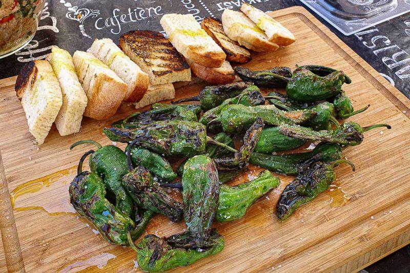 Pečene Pimiento de Padron papričice 2