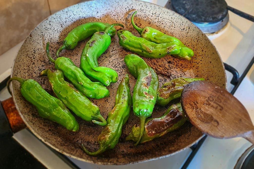 Quesadilla s junetinom i papričicama 3