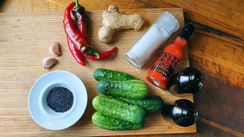 Azijska salata od krastavaca - VolimLjuto.com