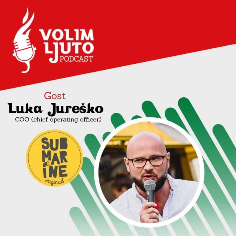Submarine Burger Luka Jurečko Podcast