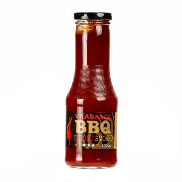 Vrabasco BBQ Strong Smoked umak za roštilj 300ml 3