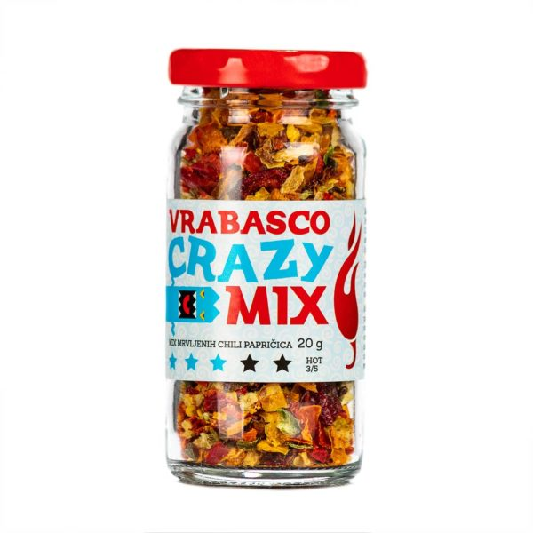 Vrabasco Crazy Mix sušene chili papričice 20g 3