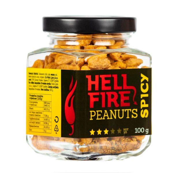 Hellfire Peanuts Spicy ljuti kikiriki 100g 3