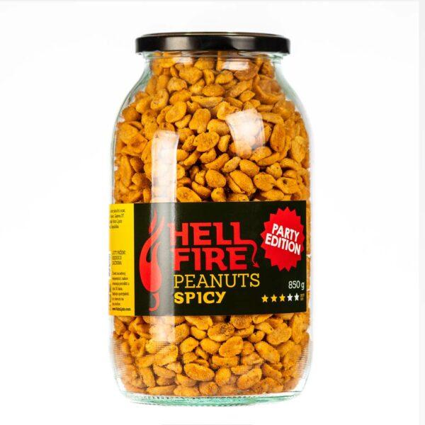 Hellfire Peanuts Spicy Party edition ljuti kikiriki 850g 3