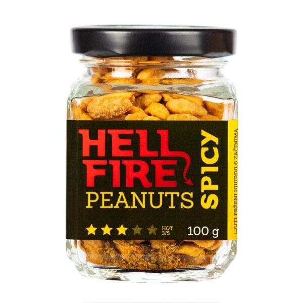 Hellfire Peanuts Spicy ljuti kikiriki 100g 4