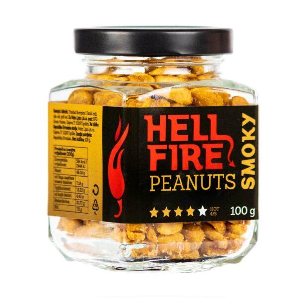 Hellfire Peanuts Smoky ljuti kikiriki 100g 2