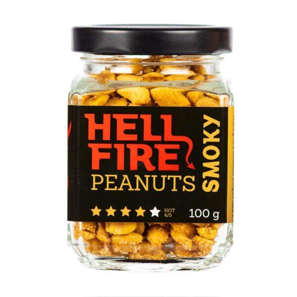 Hellfire Peanuts Smoky ljuti kikiriki 100g 3