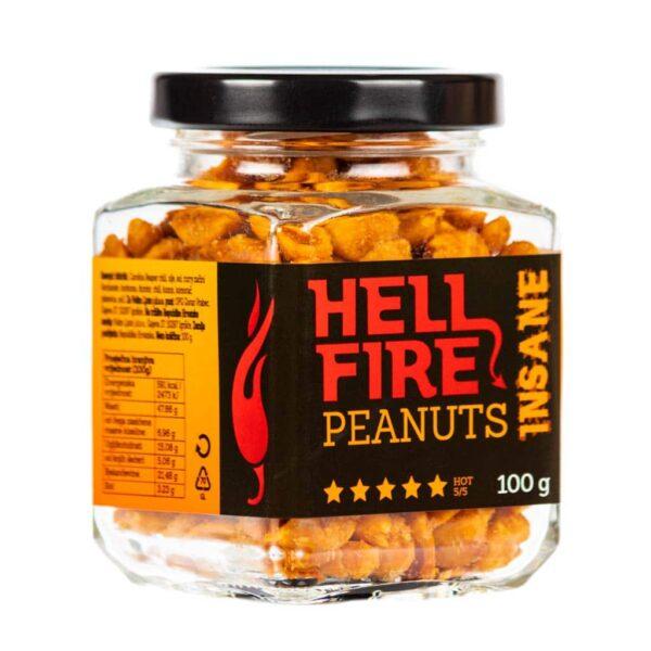 Hellfire Peanuts Insane ljuti kikiriki 100g 3