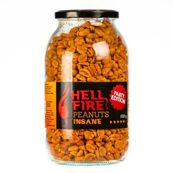 Hellfire Peanuts Insane Party edition ljuti kikiriki 850g 3