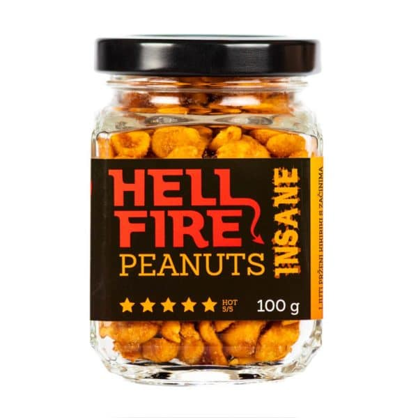 Hellfire Peanuts Insane ljuti kikiriki 100g 4