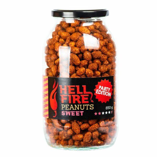 Hellfire Peanuts Sweet party edition ljuti kikiriki 850g 3