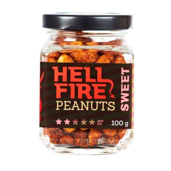 Hellfire Peanuts Sweet ljuti kikiriki 100g 4