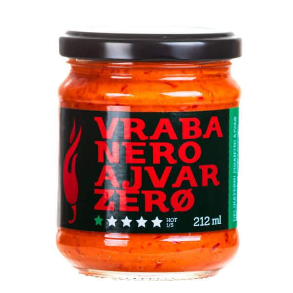 Vrabanero Ajvar Zero 212ml 3