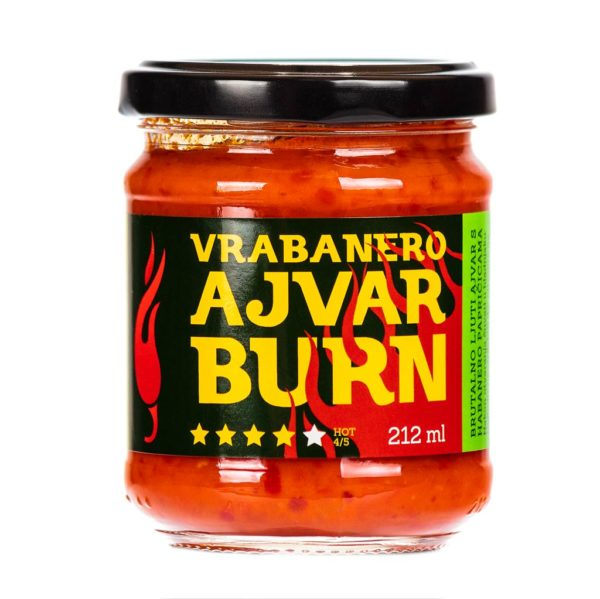 Vrabanero Ajvar Burn 212ml 3