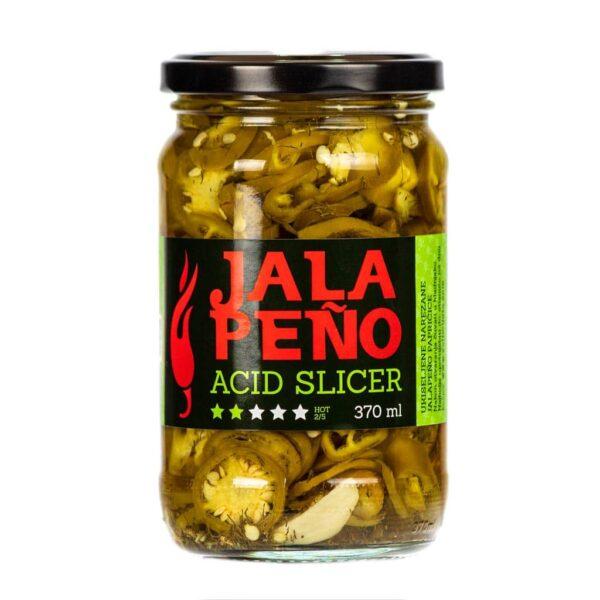 Jalapeno Acid Slicer ukiseljene papričice 370ml 2