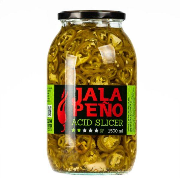 Jalapeno Acid Slicer ukiseljene papričice 1500ml 3
