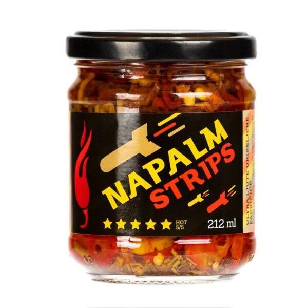 Napalm Strips ukiseljene papričice 212ml 3