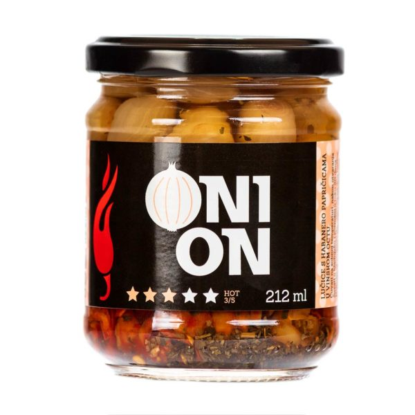 Onion ukiseljene lučice 212ml 3