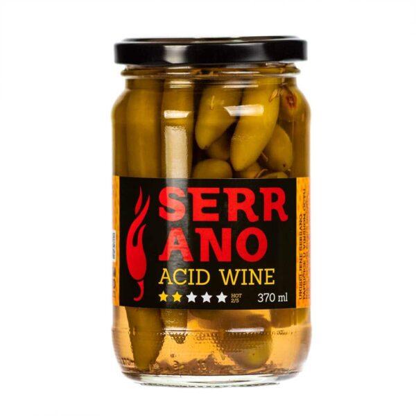 Serrano Acid Wine ukiseljene papričice 370ml 3