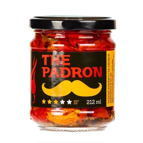The Padron chili papričice u ulju 212ml 3