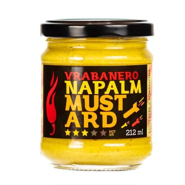 Vrabanero Napalm Mustard senf 212ml 2
