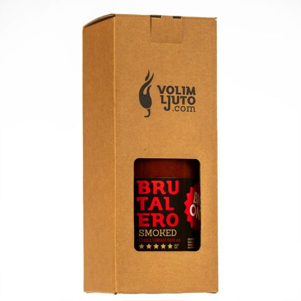 Brutalero Smoked Big One ljuti umak 500ml 4