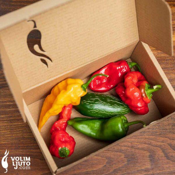 Ljuti mix - svježe chili papričice 3