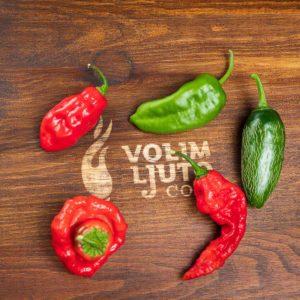 Ljuti mix - svježe chili papričice 9